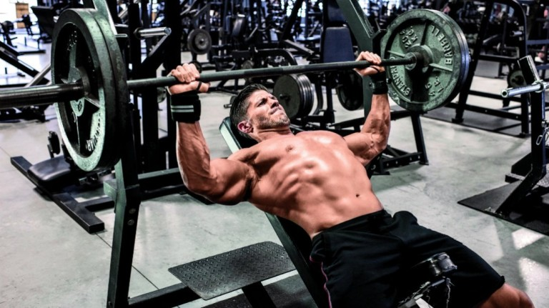 Incline-barbell-bench-press